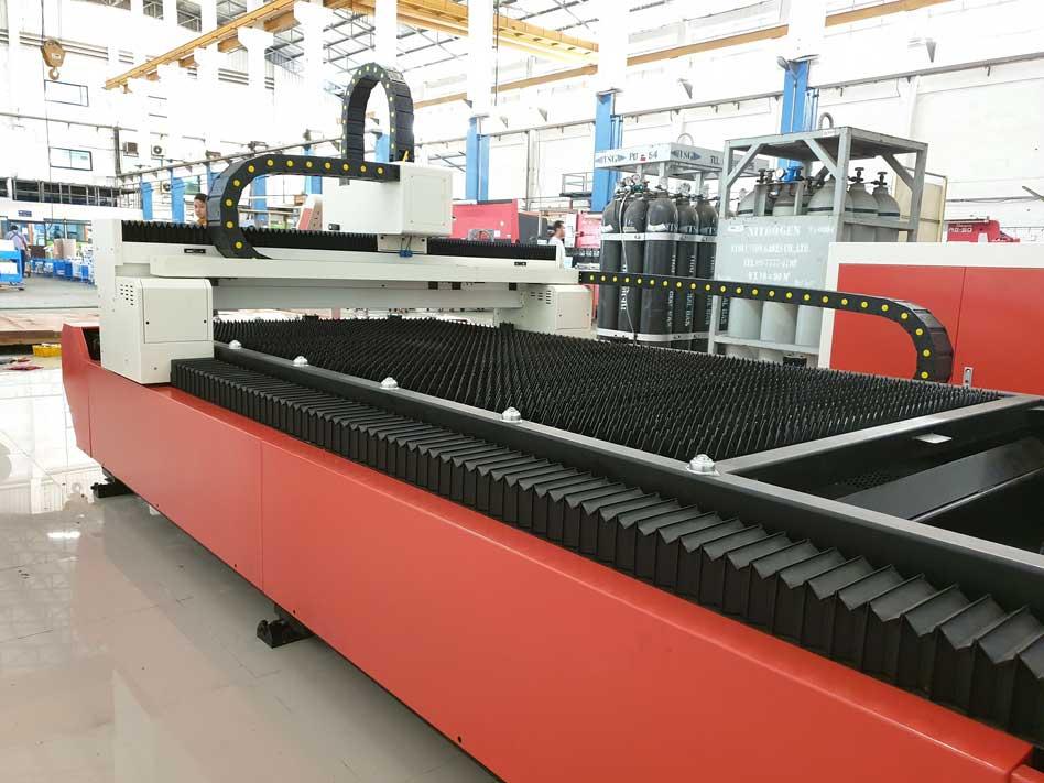 Máy cắt laser fiber CNC kim loại tấm