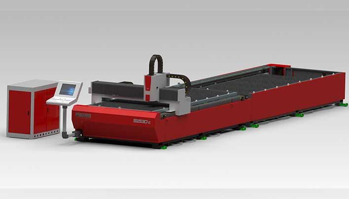 Máy cắt laser không có cover bảo vệ
